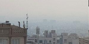 شهر آلوده تهران